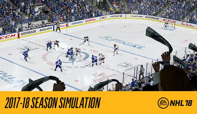 EA SPORTS NHL 18 Predicts Tampa Bay Lightening to Take Home the 2018 Stanley Cup