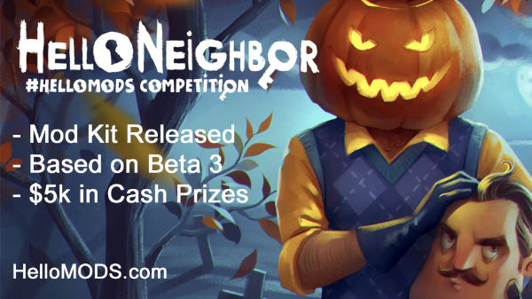 Hello Neighbor Modding Competition Announced by tinyBuild