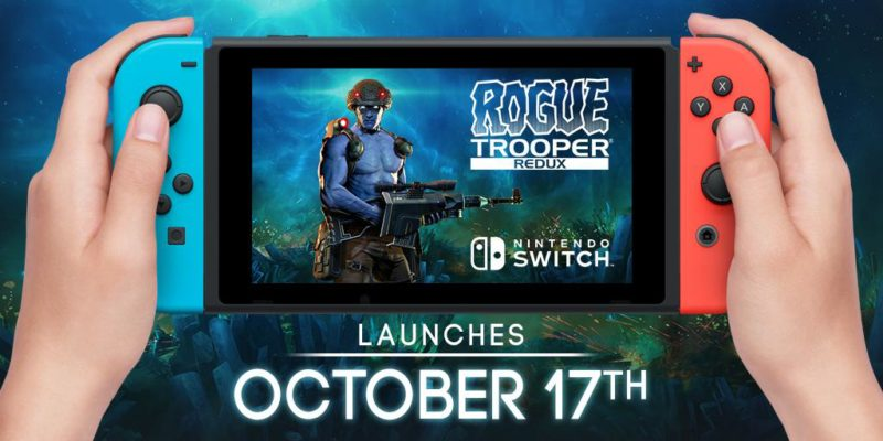 Rogue Trooper Redux by Rebellion Heading to Nintendo Switch Oct. 17, New Trailer