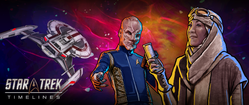 Star Trek Timelines Captains Can Begin the Discovery: A New Anomaly Mega Event