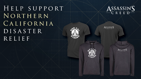 ASSASSIN'S CREED Supports Fire Relief in Northern California