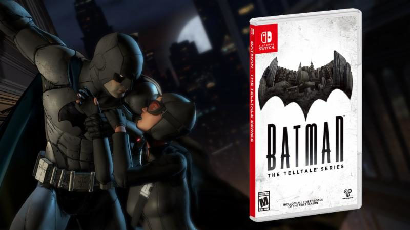 Batman - The Telltale Series Available Now on Nintendo Switch in North America