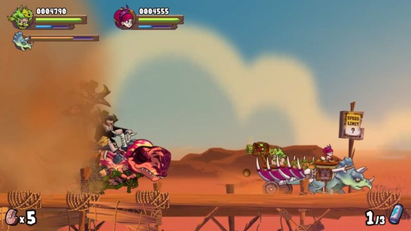 Caveman Warriors Review for PlayStation 4