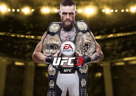 CONOR MCGREGOR UFC Lightweight Champion Revealed as Official Global Cover Athlete for EA SPORTS UFC 3