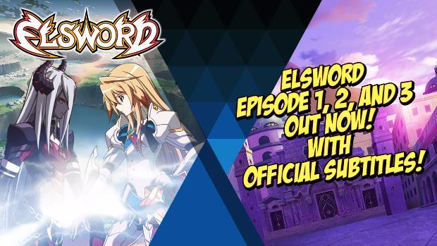Elsword Debuts First Three Episodes of New Anime Series