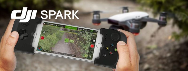 Gamevice Mobile Controller Brings Support to DJI's SPARK DRONE and Sphero's Programmable Robot