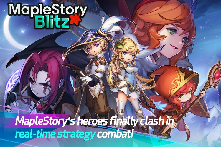 Summon, Dominate, and Conquer Maple World in MapleStory Blitz
