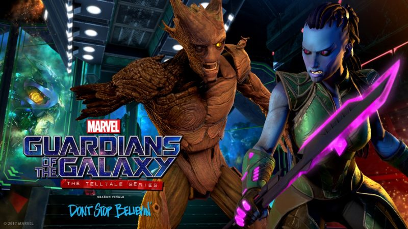Marvel's Guardians of the Galaxy: The Telltale Series Returns Nov. 7, New Trailer