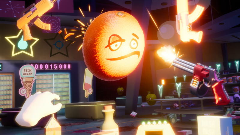 SHOOTY FRUITY Coming to PlayStation VR, HTC Vive, and Oculus Rift Dec. 19