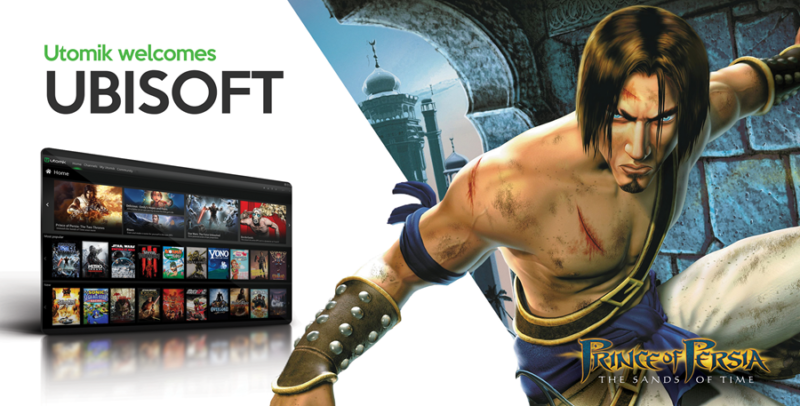 Ubisoft Classics Now Available on Utomik's Unlimited Gaming Subscription