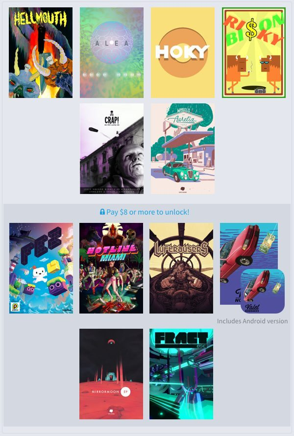 Humble Weekly Bundle Fantastic Arcade is Now Live
