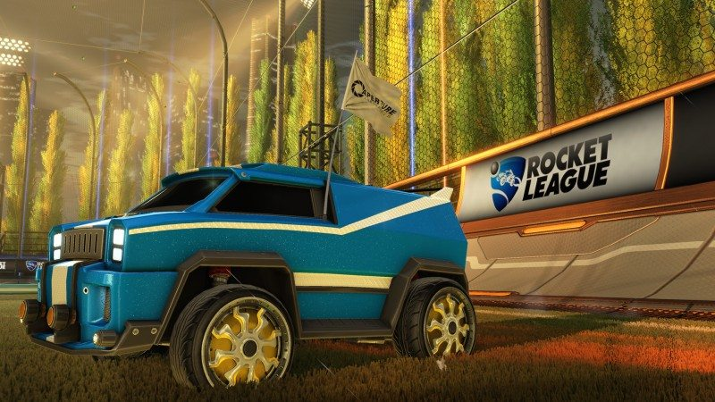 Psyonix Reveals Rocket League Portal Crossover