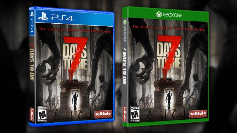 7 Days to Die Released by Telltale Publishing on Xbox One and PS4