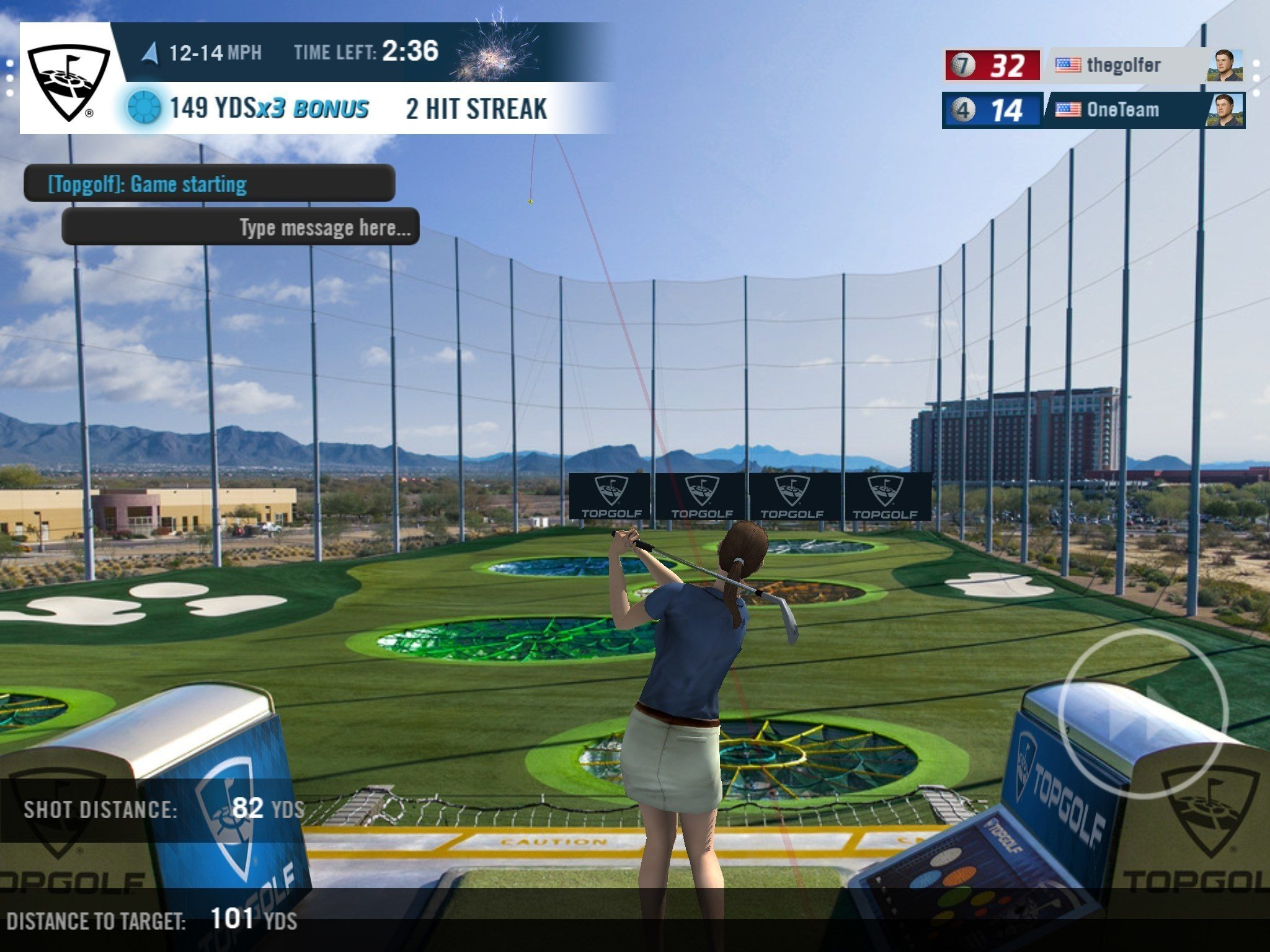"<strong><span class=""xn-location"">DALLAS </span></strong>-- Anyone in the world can now play <em><a href=""http://www.topgolf.com/"" target=""_blank"" rel=""nofollow""><b>Topgolf</b></a></em> on the go, whenever they want, in the <a href=""https://www.wgt.com/"" target=""_blank"" rel=""nofollow"">WGT Golf</a> mobile app. <em><strong>Topgolf,</strong></em> a global leader in sports entertainment, has integrated its social multi-player target-oriented game format with stunning views of its Scottsdale venue to offer a realistic Topgolf experience for players online.  WGT Golf, acquired by <em><strong>Topgolf</strong></em> in January, is the world's most popular digital golf gaming community, with more than 14 million players worldwide. Players can access the games through desktop, tablet, and iOS and Android apps. <blockquote>""Offering the <em><strong>Topgolf</strong></em> experience in the WGT Golf app instantly provides millions of players a new avenue to experience and connect with Topgolf,"" said Topgolf President of Media and WGT Co-Founder YuChiang Cheng. ""It was our goal to build a game that is casual to play yet hard to master and that brings people together to share in a fun experience and make new friends.""</blockquote> In the <em><strong>Topgolf</strong></em> game on WGT Golf, players chat in real time and play against people from all over the world. Points are scored based on distance and relative position near the targets, with added opportunities for bonus points and challenges. Each game lasts approximately five minutes and allows for up to six players to compete simultaneously and see each other's shots fly through the air. Weekly leaderboards track player rankings, and more competition modes will be added on a regular basis.  Scottsdale is the first <em><strong>Topgolf</strong></em> venue recreated virtually using WGT's patented image and terrain-mapping technology. The WGT team laser-scanned the venue down to 3mm accuracy while capturing thousands of ultra-HD photographs to create a true-to-life experience for Topgolf fans. <blockquote>""Since day one, <em><strong>Topgolf's</strong></em> imaginative use of technology has created more ways to enjoy the game of golf, and we will continue to evolve where and how people can play the game – both offline and online,"" Cheng said.</blockquote> In the first week since the <em><strong>Topgolf</strong></em> format was added to WGT Golf, more than 400,000 individual games were played and 5.3 million virtual golf balls were hit. Topgolf plans to add new game formats, including new Topgolf challenges, to the WGT Golf platform over time.  <b>About <em>Topgolf</em> </b><strong><em>Topgolf</em></strong> is a global sports entertainment community creating the best times of your life. With 26 venues serving 13 million guests annually and the world's largest digital golf audience, <em><strong>Topgolf</strong></em> has become a go-to destination for fun both in-venue and online. The <em><strong>Topgolf</strong></em> games can be enjoyed by all ages and skill levels, and the microchipped golf balls score themselves, providing players with instant feedback on each shot's accuracy and distance. Each venue features climate-controlled hitting bays for year-round play, a chef-driven food and beverage menu, music and hundreds of HDTVs. Topgolf also brings interactive experiences to the community through its Topgolf U lessons, leagues, The Topgolf Tour, KidZone parties, social and corporate events, and the World Golf Tour (WGT) app. Topgolf's lifestyle division, Topgolf Media, creates advanced media content and cultivates partnerships and sponsorships that enhance the Topgolf fan experience. To learn more about <em><strong>Topgolf,</strong></em> follow @Topgolf or visit <a href=""http://www.topgolf.com/"" target=""_blank"" rel=""nofollow"">www.topgolf.com</a>."