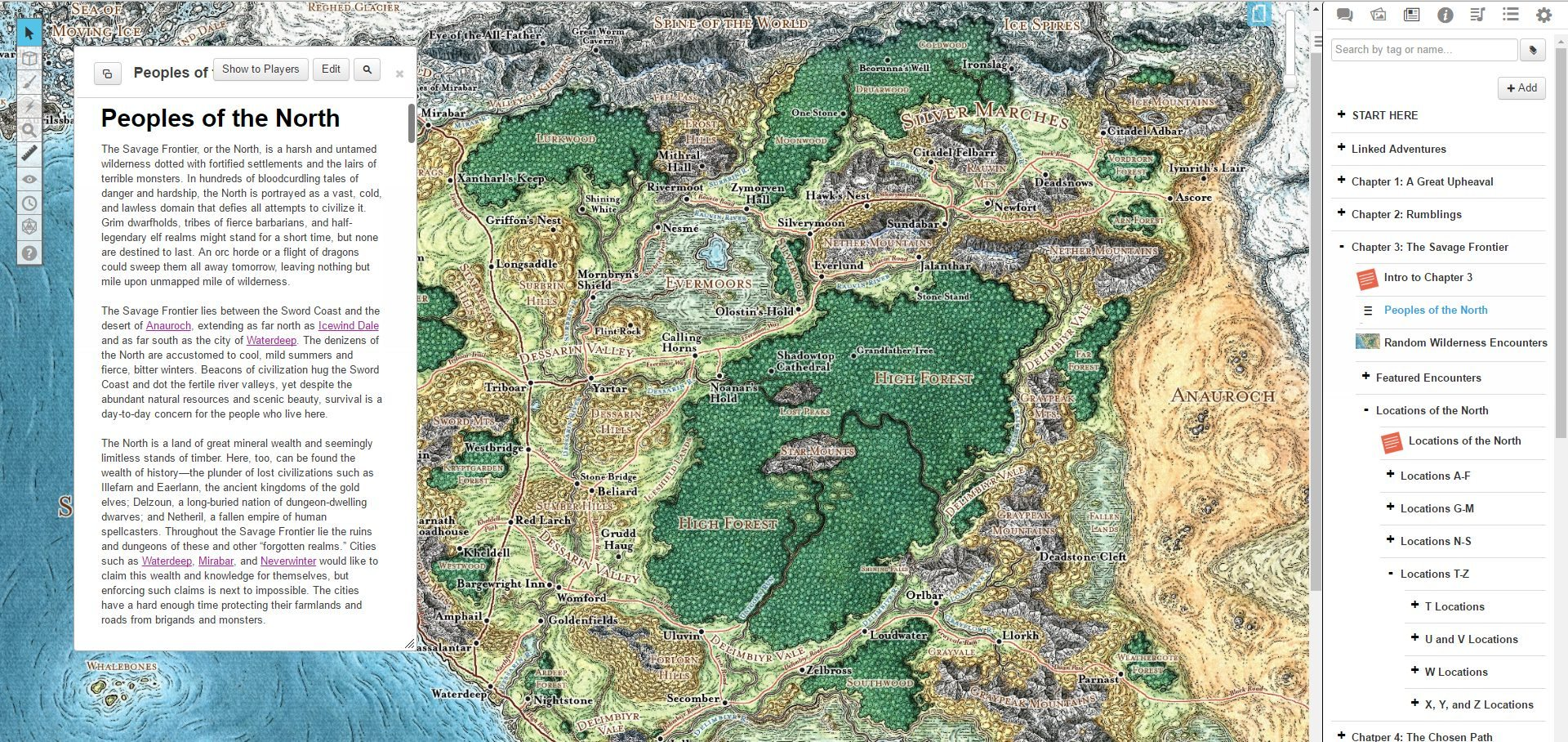 It is a picture of Superb Storm King's Thunder Printable Maps