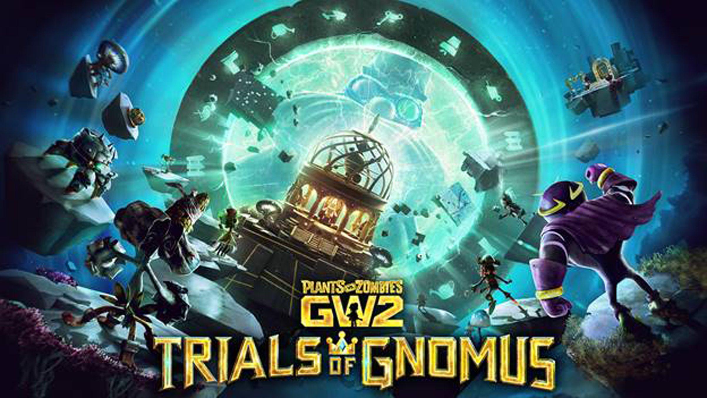 Plants Vs Zombies Garden Warfare 2 Releases 4th Massive Content Update Trials Of Gnomus