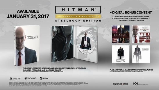 HITMAN The Complete First Season Disc Out Today