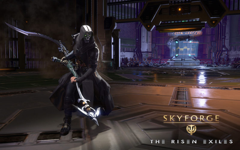 SKYFORGE The Risen Exiles Expansion and Free PS Plus Packs Available Now