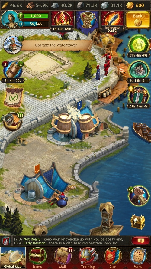 Vikings War Of Clans Review For Iphone Gaming Cypher
